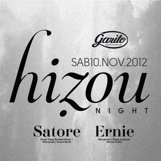 ERNIE (MINUENDO) & SATORE (HIZOU RECORDS) @ GARITO CAFE / 10.11.12 (PART. 1)