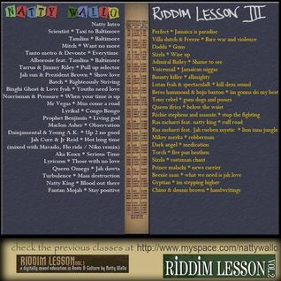 Riddim Lessons vol 03