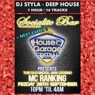 DJ STYLA - DEEP HOUSE MIX SEP 2012