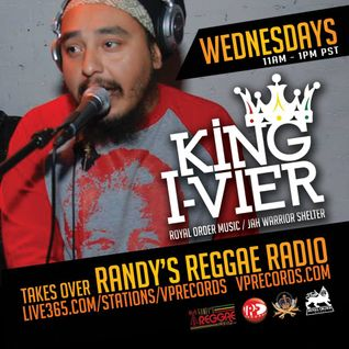 4-30-14 KING I-VIER TAKES OVER RANDY'S REGGAE RADIO!