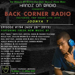 BACK CORNER RADIO: Episode #194 (Nov 26th 2015)
