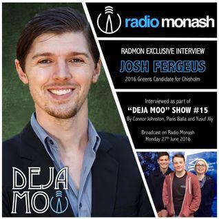 RadMon Exclusive Interview: Josh Fergeus (Deja Moo #15)