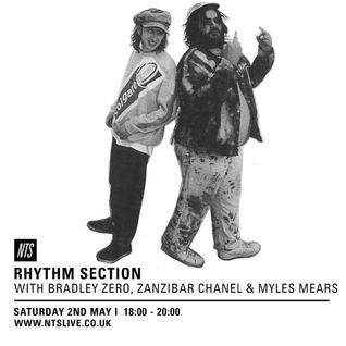 Rhythm Section w/ Bradley Zero, Zanzibar Chanel & Myles Mears - 2nd May 2015