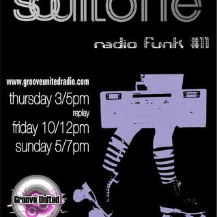 Soultone Radio Funk#11[2nd hour]July2011@ Groove United