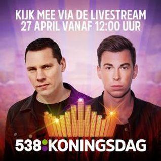 Tiësto & Hardwell - FULL SET @ Radio 538 Koningsdag, Netherlands 2016-04-27