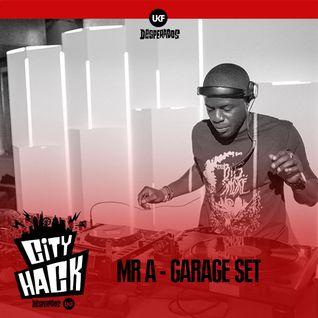 Mr A - Garage Set (UKF & Desperados City Hack Challenge 4)