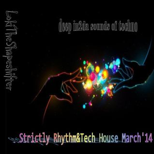 Strictly Rhythm & Tech House!  The sickest Tunes right here mixed by Shapeshifter!!!
