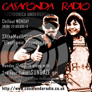 SXtheMadArtist [Electronic Soundscapes] with Sundaze [Om-Tree] on Casafonda Radio