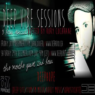 Deephope @ Deep Vibe Sessions Guest Mix at DE Radio
