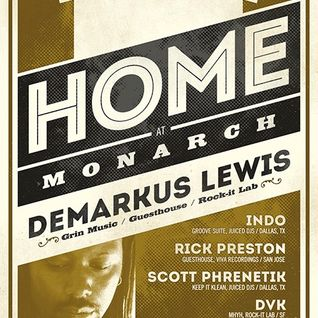 Demarkus Lewis (Live DJ Set) @ Monarch San Francisco 09-20-2012