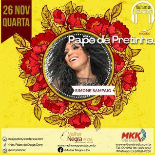 """Programa """"Nas Pistas Deejay Dony"""" - Papo de Pretinha 03 - 26/11/2014"""