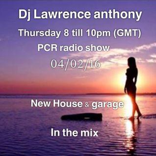 dj lawrence anthony pcr radio 04/02/16