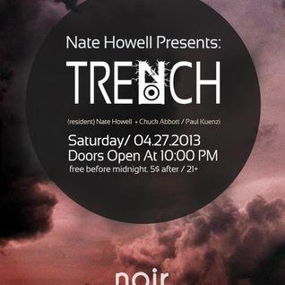 Paul Kuenzi - Live from Trench @ Noir 4.27.13