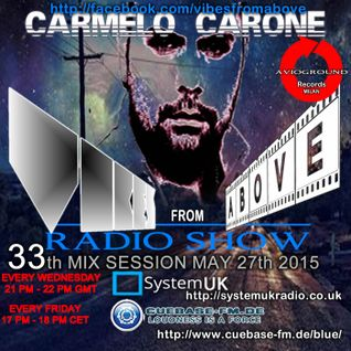 Carmelo_Carone_VIBES_FROM_ABOVE-33th_Mix_Session-MAY_27th_2015