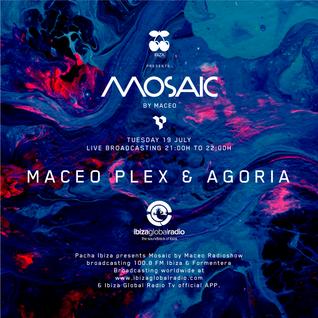 Maceo Plex and Agoria - b2b at Mosaic by Maceo, Ibiza Global Radio (19-07-2016)