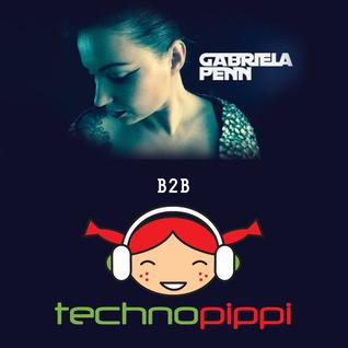 Gabriela Penn B2B Techno Pippi Liveset 28 May 2014