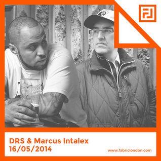 marcus intalex & mc drs - fabric live 16.05.14