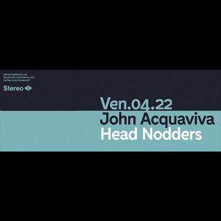 John Acquaviva live at Stereo Montreal, April 2016
