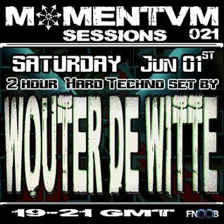 Momentvm Sessions 021 - Wouter de Witte