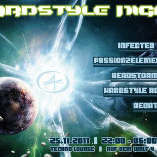 Passion2Elements @ Hardstyle Night Techno Lounge 25.11.2011
