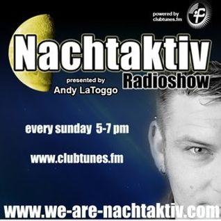 Andy LaToggo - Nachtaktiv Radioshow 116 (Specialguest - Ydna Oggotal) @ Clubtunes FM (10.05.2015)