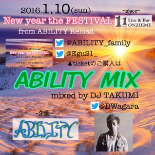 ABILITY MIX mix by DJ TAKUMI
