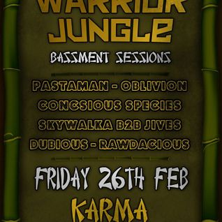 Dubious - Warrior Jungle 26/02/2016