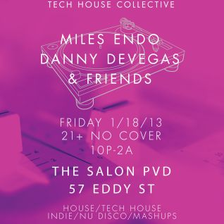 Danny DeVegas live @ The Salon, Providence (1-18-13)