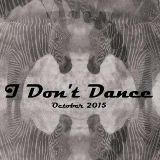 IDD (I Don't Dance) Tech House Mixtape - October 2015