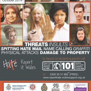 MônFM's Radio Broadcast for the 2014 National Hate Crime Awareness Week (English)