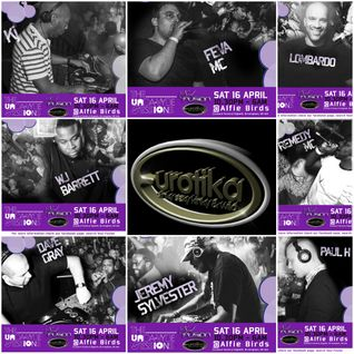 Eurotika - 20yrs of Oldskool UK Garage & House - Promo Mix feat KJ & FEVA MC