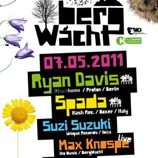 Ryan Davis @ BergWacht ARTheater Cologne 07.05.2011
