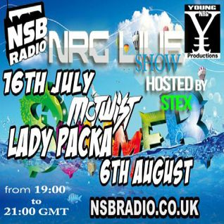 NSB Radio - NRG Live Show - 6th Aug 15 - Set by Lady K Packa