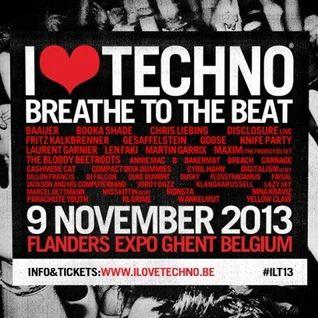Laurent Garnier - Live At I Love Techno 2013 (Ghent, Belgium) - 09-Nov-2013