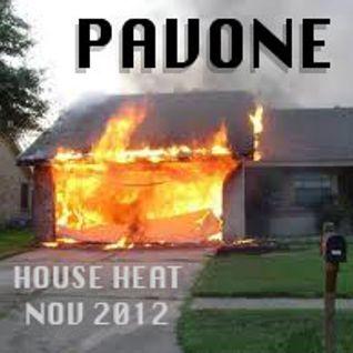 DJ Pavone - House Heat Nov 2012