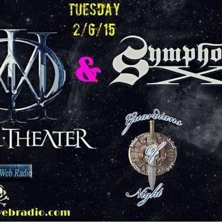 Guardians Of Night -Dream Theater & Symphony X 2/6/15 @ Spirto Web Radio