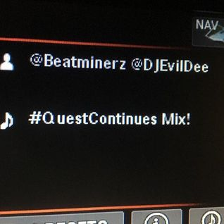 """""""THE QUEST CONTINUES MIX [DA BEATMINERZ EDITION]"""" ON BACKSPIN CH. 43 ON SIRIUSXM 11.11.16."""