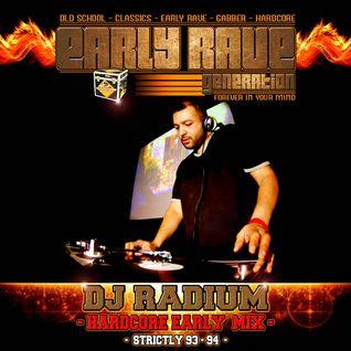 EARLY RAVE GENERATION MIX BY DJ RADIUM
