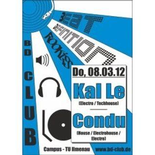 live @ BD-Club, Ilmenau 08.03.2012