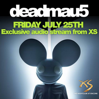 deadmau5 - XS Nightclub Las Vegas 25-07-2014