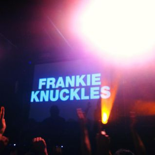 Frankie Knuckles Tribute Show, by Colin Sales - April 2014