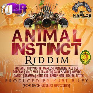 Animal Instinct Riddimix - By DjRuffRnc (Techniques) 2013