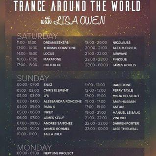 Trance Around The World With Lisa Owen Episode 050 PARA X