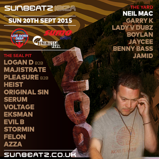 Neil Mac @ ZOO IBIZA (THE YARD) , LOWDOWN DEEP AND SUMO , SUNBEATZ 2015