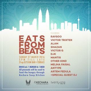 Eats From Beats At Elysium Charity Party 27/03/2016