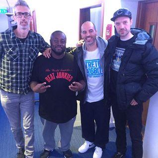 DJ MK & SHORTEE BLITZ - KISS FM  HIP HOP SHOW - STRETCH & BOBBITO SPECIAL GUESTS!!