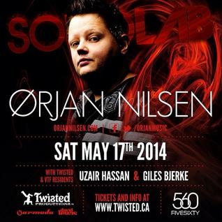 Live @ 560 (Opening & Closing Sets for Orjan Nilsen) May 17th, 2014