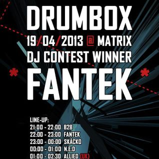 Fantek - Dark Lesson 2013 - Drumbassterds.cz_Drumbox Contest Winning Set!