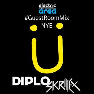 Jack Ü Live @ #GuestRoomMixNYE SiriusXM Electric Area 31/12/2015