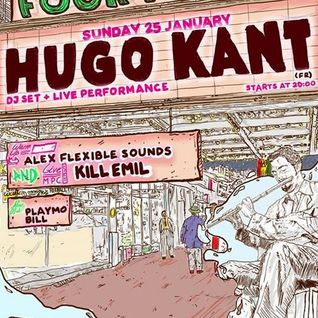 Hugo Kant Solo Live Set @ Four Twenty Break Bar - Athens